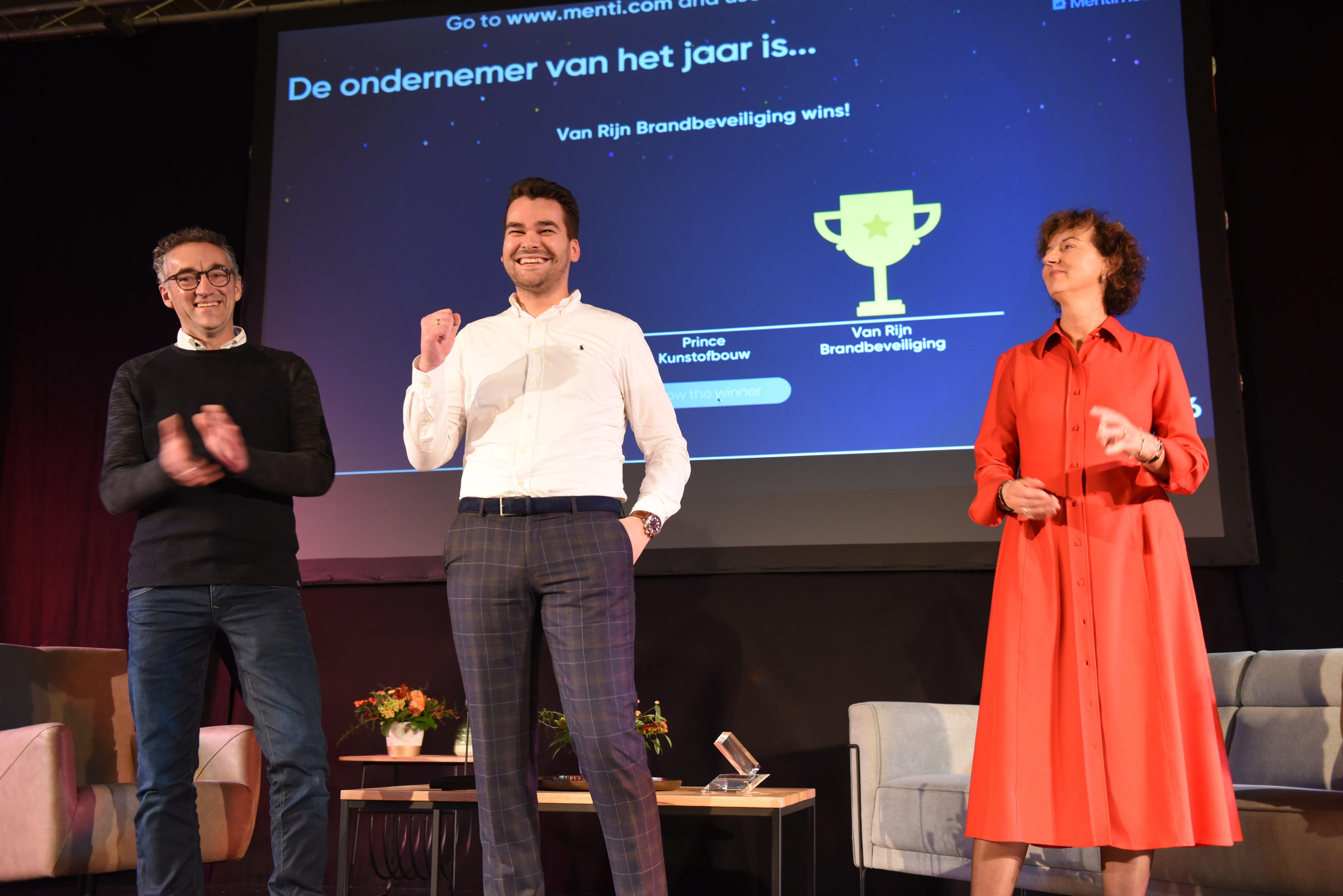 Winnaar Thoolse ondernemersprijs 2020